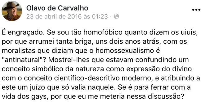 OLAVO CONTRA CATOLICOS